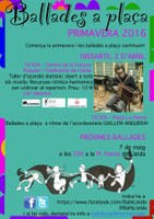 Ballades a Plaça, Lleida. Ballada d'abril amb en Guillem Anguera