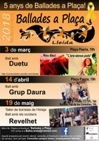 Ballades a Plaça, Lleida, des de l'Arieja, REVELHET!
