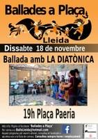 Ballades a Plaça, Lleida, La Diatònica!
