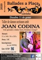 Ballades a Plaça / Lleida / Taller de balls gascons amb Joan Codina