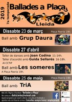Ballades a Plaça, Lleida, TRIA!
