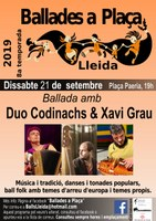 Lleida / Ballades a Plaça / Duo Codinachs & Xavi Grau