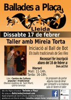 Taller Ball de Bot amb la Mireia Torta, Lleida