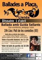 Taller i ballada amb la Guida Sellarès. Lleida