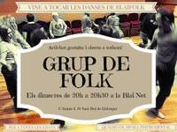 GRUP DE FOLK: El taller de conjunt instrumental folk de la Blai Net