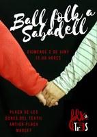 Ball Folk a Sabadell amb FOLKATR3S (format duet)
