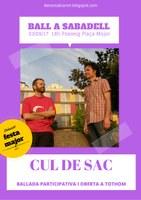 Ball folk de Festa Major amb Cul de Sac - Sabadell