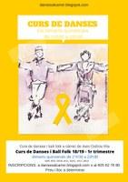 CURS DE DANSES I BALL FOLK A SABADELL: Reunió de presentació i 1a sessió