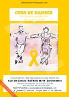 DANSES AL CARRER DE SABADELL: Curs de danses i ball folk 18/19 - 2n trimestre