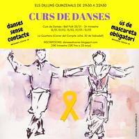 [ANUL·LAT!] DANSES AL CARRER DE SABADELL: Curs de danses i ball folk 2020-2021 (2n trimestre)