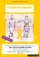 DANSES AL CARRER DE SABADELL: Taller de ball social irlandès i escocès