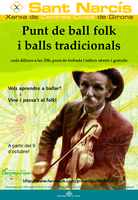 ESCAMPILLEM: Punt de ball folk i balls tradicionals de Girona