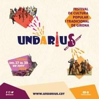 UNDÀRIUS 2019 - Festival de cultura popular i tradicional de Girona