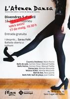 !!Anul.lat per pluja!! SANTCUGATENC: Sarau i petita ballada folk per la mostra de Tallers i Cursos de Dansa de l'Ateneu