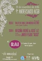Ball folk amb Bluegard pel el 4rt aniversari de l'Asemblea Cultral Galega Barcelona