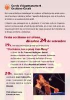 """Ball folk """"Anam lèu dançar"""" per la Festa Occitano-Catalana de Sant Quirze del Vallès"""