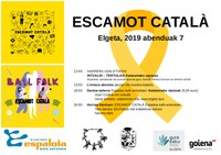 ESCAMOT CATALÀ A EH: Taller de danses catalanes