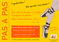 PAS A PAS: Taller de danses occitanes: La borrèia a tres temps