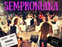 SEMPRONIANA: Ball Folk per la sobretaula paellera de la Festa Major de Cardedeu