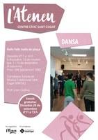 "TALLER ""Ball folk - Balls de plaça"" a l'Ateneu Santcugatenc - Classe oberta gratuïta"