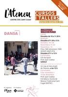 """TALLER """"BALLS FOLK, BALLS DE PLAÇA"""" - Nivell avançat"""