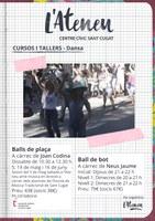 """Taller de """"Balls a Plaça"""" a l'Ateneu Santcugatenc"""