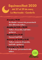 Concert ball del festival EQUINOCCI FEST 2020