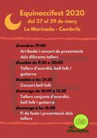 EQUINOCCI FEST 2020. Festival d'acordió diatònic i de dansa.