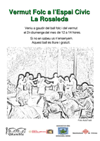 Vermut Folk cada 2n diumenge de mes a La Rosaleda - Girona