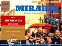 Ball folk occità amb Mirabèl pel 7è Rubrifolkum (i concert amb ROT)