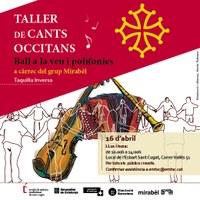 Taller de cants occitans: ball a la veu i polifonies