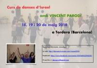 Taller de danses d'ISRAEL amb Vincent Parodi