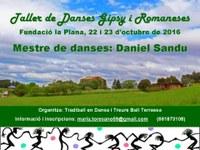 Taller de danses GIPSY i ROMANESES amb Daniel Sandu