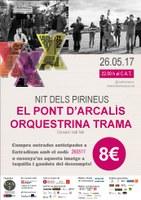 Concert i Ball Folk al Tradicionàrius El Pont d'Arcalís i Orquestrina Trama
