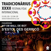Ball de Bot amb S'Estol des Gerricó al Tradicionàrius