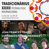 Nit de Ball Folk amb Joan Francés Tisnèr i Corrandes són Corrandes al Tradicionàrius