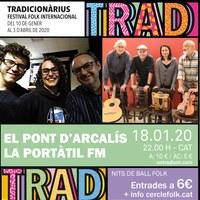 Nits de Ball Folk amb El Pont d'Arcalís i La Portàtil FM al Tradicionàrius