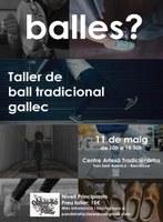 Taller de ball tradicional gallec al CAT Tradicionàrius